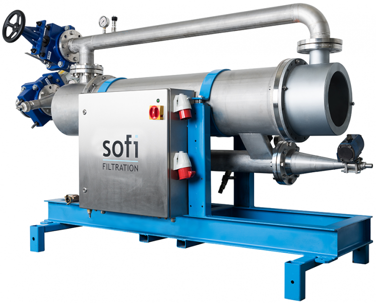 Sofi Self-Cleaning Filtration